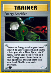 Energy Amplifier - 98/105 - Uncommon - 1st Edition