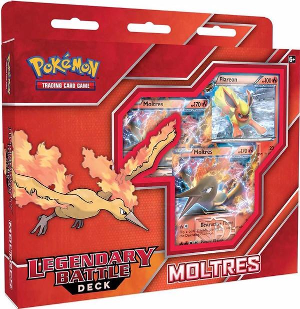 Legendary Battle Deck - Moltres EX