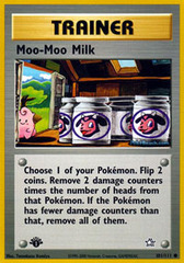 Moo-Moo Milk - 101/111 - Common - 1st Edition on Channel Fireball