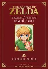 Legend Of Zelda Legendary Ed Gn Vol 02 Oracle Seasons Ages
