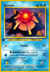 Staryu - 56/64 - Common - 1st Edition
