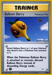 Balloon Berry - 60/64 - Uncommon - 1st Edition