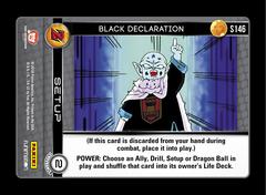 Black Declaration - S146 - Foil on Channel Fireball