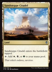 Sandsteppe Citadel on Channel Fireball