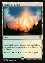 Sunpetal Grove on Channel Fireball