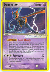 Deoxys EX (Speed) - 17/17 - Rare