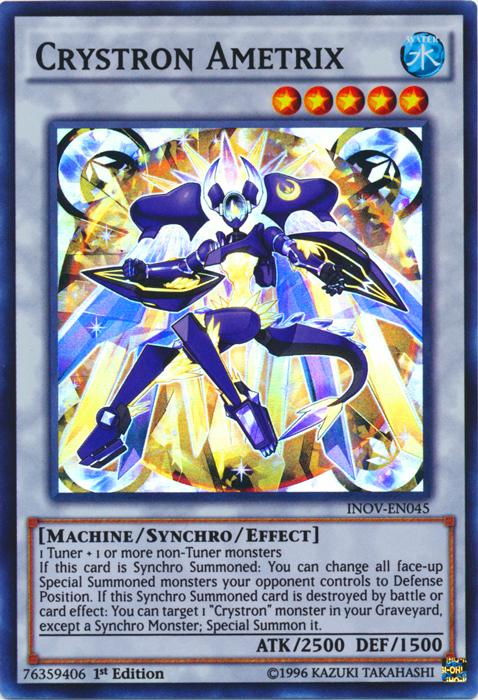 Crystron Rosenix INOV-EN020 Yu-Gi-Oh Common Card 1st Edition New