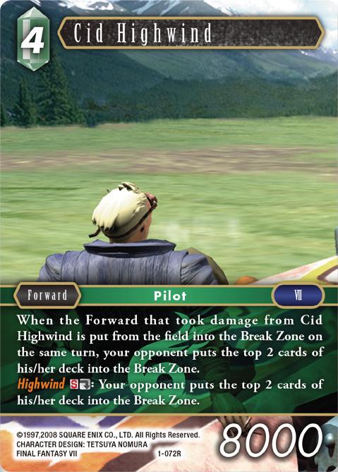 Cid Highwind - 1-072R
