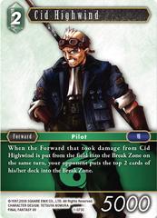 Cid Highwind - 1-073C