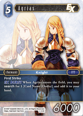 Agrias - 1-151R on Channel Fireball