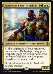 Kynaios and Tiro of Meletis - Foil Oversized
