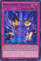 Magicians' Defense - MVP1-EN028 - Ultra Rare - Unlimited Edition