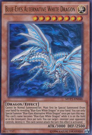 Blue-Eyes Alternative White Dragon - MVP1-EN046 - Ultra Rare - Unlimited Edition