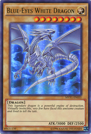 Blue-Eyes White Dragon - MVP1-EN055 - Ultra Rare - Unlimited Edition