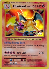 Charizard - 11/108 - XY Evolutions Prerelease Promo
