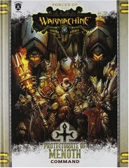 Forces of Warmachine: Protectorate of Menoth Command (hard cover)