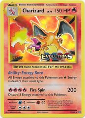 Charizard - 11/108 - XY Evolutions Staff Prerelease Promo