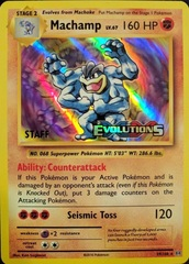 Machamp - 59/108 - XY Evolutions Staff Prerelease Promo