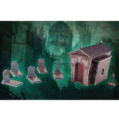 Plast Craft: Graveyard Set - Color Edition (Pvc Scenery)