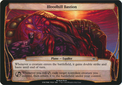 Bloodhill Bastion - Oversized on Channel Fireball