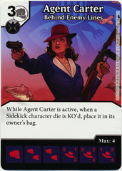 Agent Carter - Behind Enemy Lines (Card Only)
