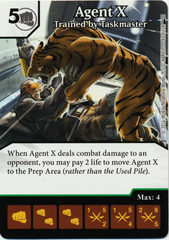 Agent X - Trained by Taskmaster (Die & Card Combo)