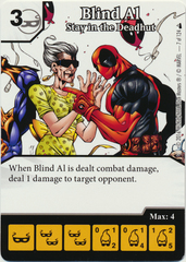 Blind Al - Stay in the Deadhut (Die & Card Combo)