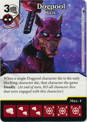 Dogpool - Bark (Die & Card Combo)