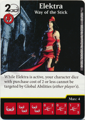 Elektra - Way of the Stick (Card Only)