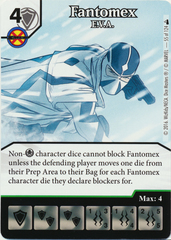 Fantomex - E.V.A. (Die & Card Combo)