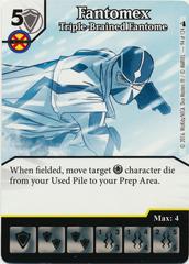 Fantomex - Triple-Brained Fantome (Die & Card Combo)
