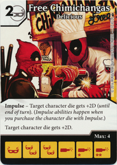 Free Chimichangas - Delicious (Die & Card Combo)
