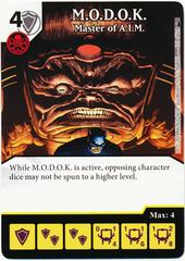 M.O.D.O.K. - Master of A.I.M. (Foil) (Die & Card Combo)