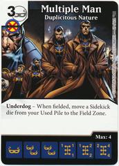Multiple Man - Duplicitous Nature (Foil) (Die & Card Combo)