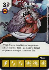 Storm - Extra Lightning (Foil) (Die & Card Combo)