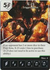X-23 - Trigger Scent (Die & Card Combo)
