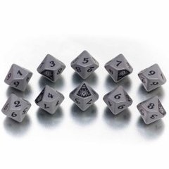 Legend of the Five Rings - The Spider Clan Dice Set (10 d10s)