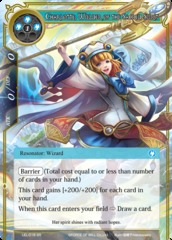 Charlotte, Wielder of the Sacred Beast - LEL-018 - SR on Channel Fireball