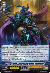 Blue Thorn Heavy-slash, Valdemar - G-TD10/004EN - TD on Channel Fireball