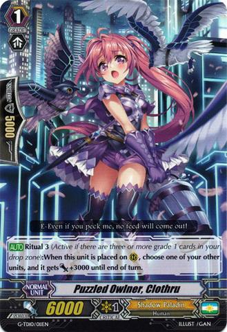 Puzzled Owlner, Clothru - G-TD10/011EN - TD