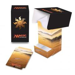 Ultra Pro - Magic the Gathering: Mana Series 5 Plains Full View Deck Box with Tray