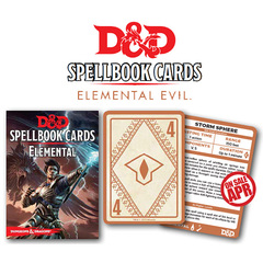 Dungeons And Dragons: Elemental Spell Deck (43 Cards)