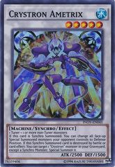 Crystron Ametrix - INOV-EN045 - Super Rare - Unlimited Edition on Channel Fireball