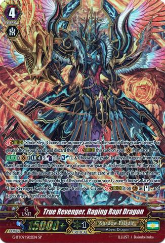 True Revenger, Raging Rapt Dragon - G-BT09/S02EN - SP - Cardfight ...