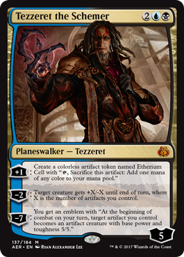 Tezzeret the Schemer - Foil