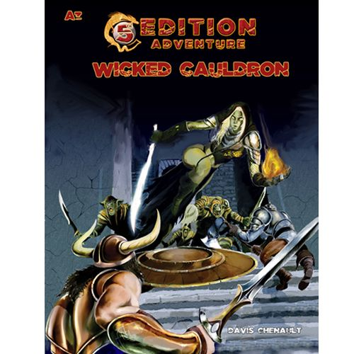 Fifth Edition Adventures: A3 - The Wicked Cauldron