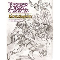 Dungeon Crawl Classics #69: The Emerald Enchanter (Sketch Cover)