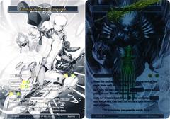 Glorius, Masked Crusader // Faria, Ruler of Divine Beasts - LEL-058 - UR - Uber Rare