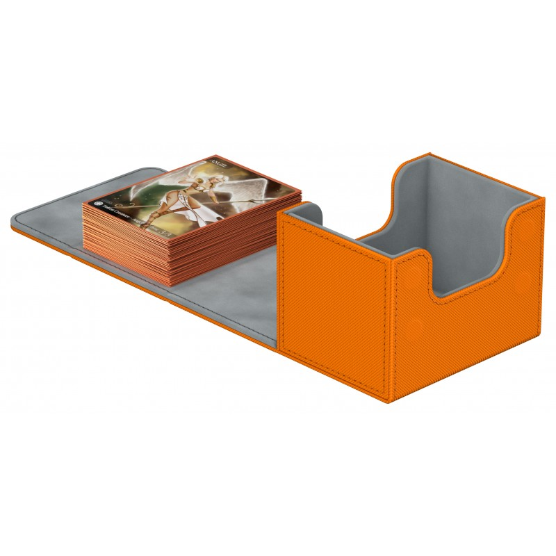 Ultimate Guard - Deck Case 100+ Sidewinder Xenoskin - Orange