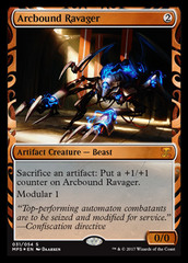 Arcbound Ravager - Foil on Channel Fireball